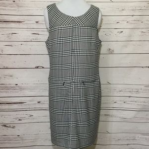 Vintage Chadwick's Houndstooth Plaid Dress